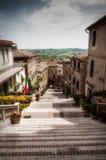 Pasos de progresión italianos fotografía de archivo libre de regalías