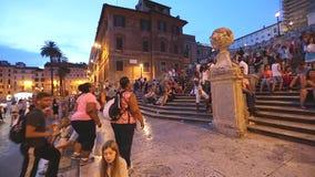 Pasos de progresi?n espa?oles en Roma Italia