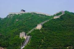 Pasos de progresión de la Gran Muralla Foto de archivo