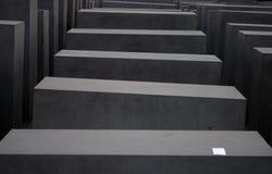 Pasos de un holocausto Mahnmal Foto de archivo libre de regalías