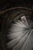 Pasos de una escalera espiral Fotografía de archivo libre de regalías