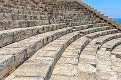 Pasos del amphitheatre antiguo Foto de archivo