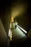 Pasos del castillo de Ksiaz Imagen de archivo libre de regalías