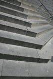 Pasos del escaleras de piedra ritmo Abstracción 1 fotografía de archivo libre de regalías