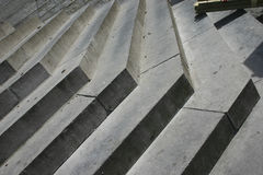 Pasos del escaleras de piedra ritmo Abstracción Foto de archivo libre de regalías