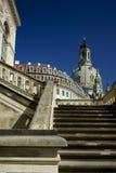 Pasos del museo del transporte de Dresden Imagenes de archivo