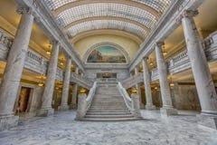 Escalera capital Foto de archivo