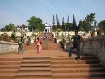 Pasos en la India Foto de archivo libre de regalías