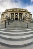 pasos que llevan al ala de la capital de Idaho fotografía de archivo
