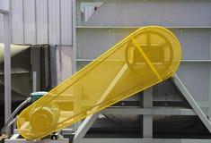 Pasowa Strażowa zbawcza ochrona dla silnika lotnicza dmuchawa fotografia stock