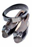 pasowy obuwie zdjęcia royalty free
