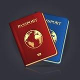 Paspoort royalty-vrije illustratie