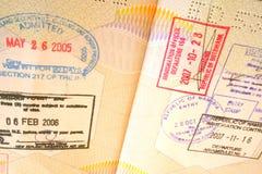Paspoort Stock Fotografie