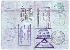 Paspoort Stock Afbeeldingen