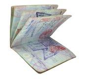 Paspoort royalty-vrije stock foto