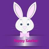 Pasqua Bunny Card Fotografia Stock