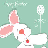 Pasqua Bunny Ears Vector Immagine Stock Libera da Diritti