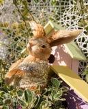 Pasqua Bunny Toy Fotografie Stock Libere da Diritti