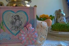 Pasqua a casa 01 Immagini Stock