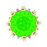 Pasqua (conigli svegli) Fotografie Stock