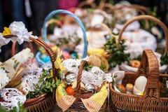 Pasqua e sorgente fotografia stock