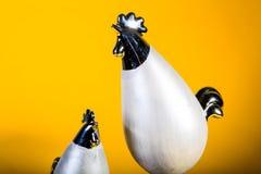 Pasqua - famiglia del pollo Fotografie Stock Libere da Diritti