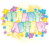 Pasqua felice illustrazione di stock