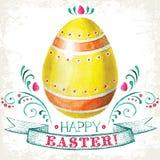 Pasqua felice! Fotografie Stock Libere da Diritti