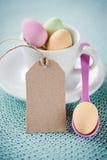 Pasqua felice - carta II dell'invito Fotografie Stock