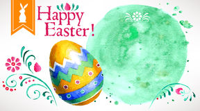 Pasqua felice! (+EPS 10) Fotografia Stock