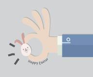 Pasqua felice per la festa di affari Fotografia Stock