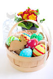Pasqua ha colorato le uova Fotografie Stock Libere da Diritti