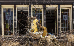 Pasqua ha decorato la finestra a Colmar Fotografie Stock