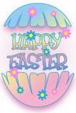Pasqua ha fenduto l'uovo Immagine Stock