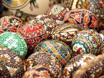 Pasqua ha verniciato le uova Immagine Stock