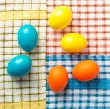 Pasqua ha verniciato le uova Fotografia Stock Libera da Diritti
