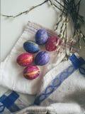 Pasqua leggera felice fotografia stock libera da diritti