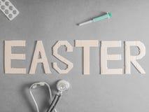 Pasqua medica Fotografia Stock Libera da Diritti