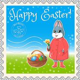 Pasqua segna mail-02 illustrazione vettoriale