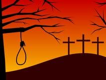 Pasqua - tradimento & pentimento illustrazione di stock