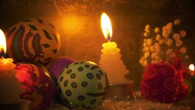 Pasqua variopinta Paschal Eggs Celebration archivi video