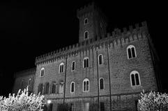 Pasquini Castle σε Castiglioncello, Τοσκάνη, Ιταλία Στοκ Εικόνα