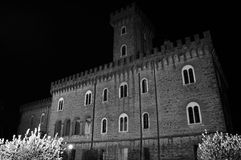Pasquini-Schloss in Castiglioncello, Toskana, Italien stockbild