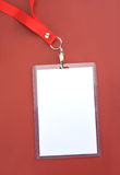 Pass. Blank backstage pass to put your own text on Stock Photos
