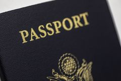 Pass-Amerikaner Vereinigter Staaten Stockbild