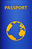 Pass back blue Stock Images