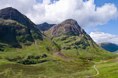 Pass of Glencoe Royalty Free Stock Photos