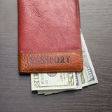 Pass med pengar royaltyfri bild