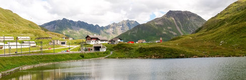 Pass of Oberalp Royalty Free Stock Photo