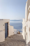 Pass in Oia Stock Images